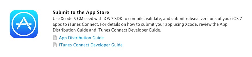 Use Xcode 5 GM